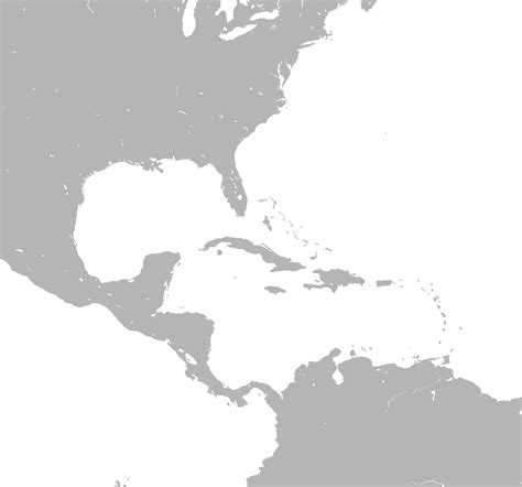 usa and caribbean map file caribbean map blank png wikimedia commons