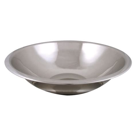 stainless steel bowls 5 qt standard weight stainless steel mixing bowl