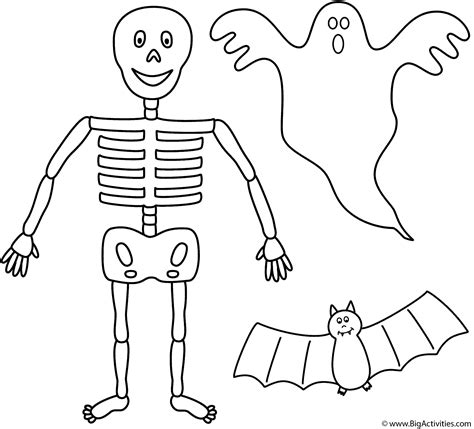 halloween coloring pages cut outs coloring pages