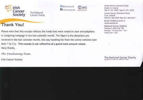 Thank You Letter For Donation Of Office Furniture 100 Thank You Letter Charity Donation 6 Thank You