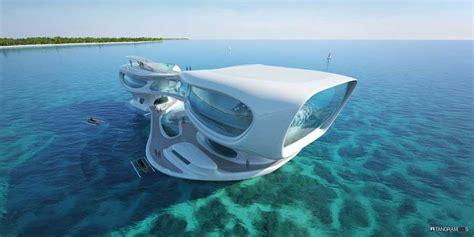 marine research center bali indonesia building  architect