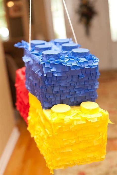 bold lego kids party ideas  rock shelterness