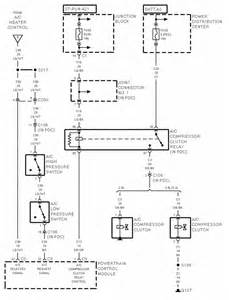 1996 dodge dakota wiring diagram for the air conditioner system