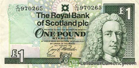 the royal bank of scotland plc the royal bank of scotland plc 1 pound exchange yours