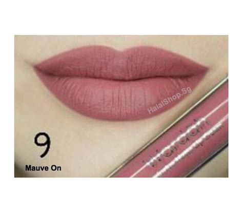 Wardah Lipscream halal cosmetics singapore wardah exclusive matte lip 09 mauve on more brands available