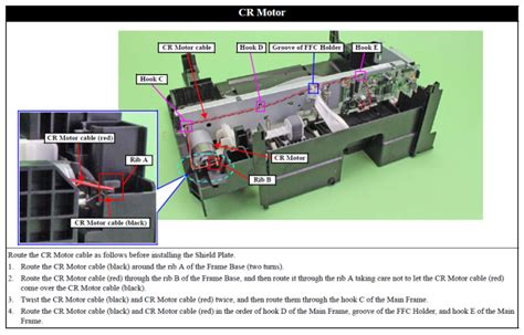 Spare Part Printer Epson L210 epson l110 l210 l300 l350 sx235w sx435w sx440w cr motor motor assy cr 1548481