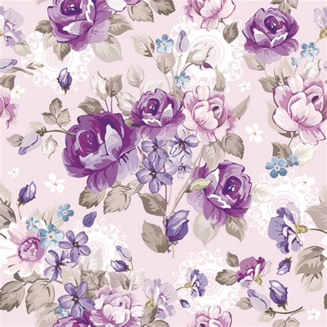 beautiful pattern beautiful floral patterns vector ser 04 vector flower
