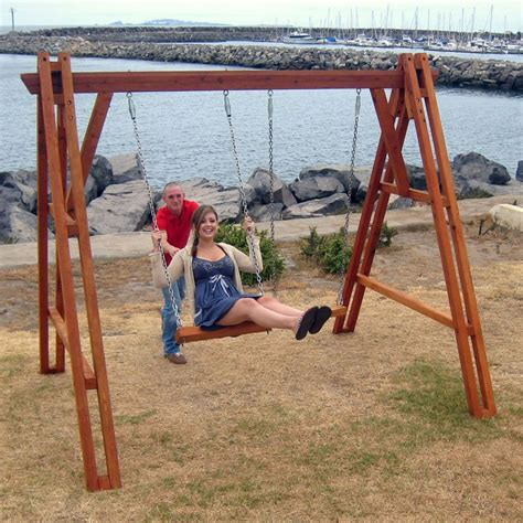 redwood porch swing 17 best images about outdoor furniture on pinterest
