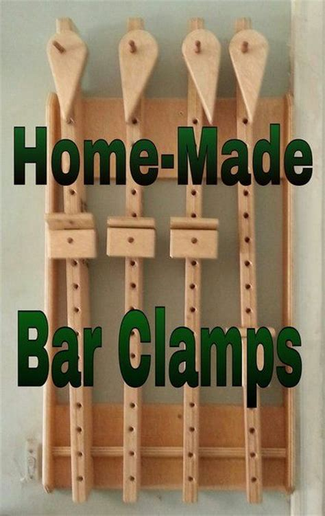home  bar clamps  easy   build  bar clamps