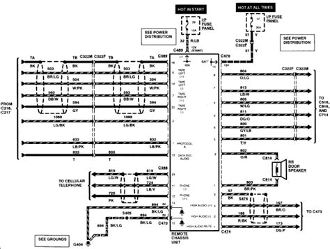 1997 lincoln continental rear diagram html