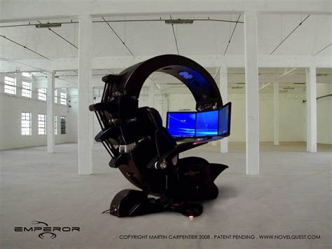 High Computer Chair Design Ideas Ultimate Computer Setups Cool Computer Room Design
