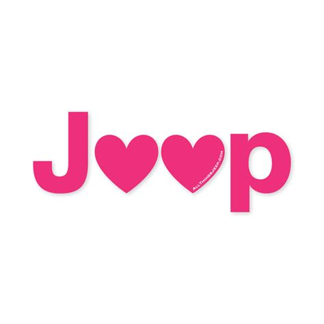 Pink Jeep Emblem All Things Jeep Jeep Decal In Pink