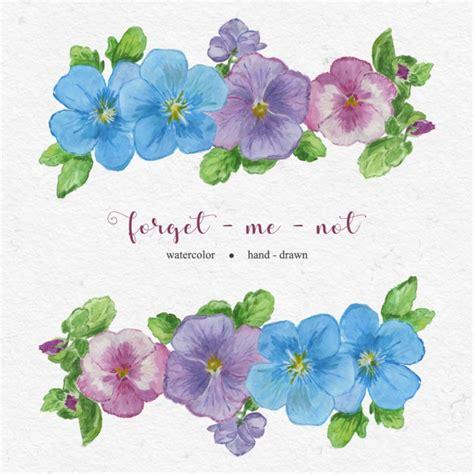 imagenes flores pintadas lindas flores pintadas con acuarelas descargar vectores