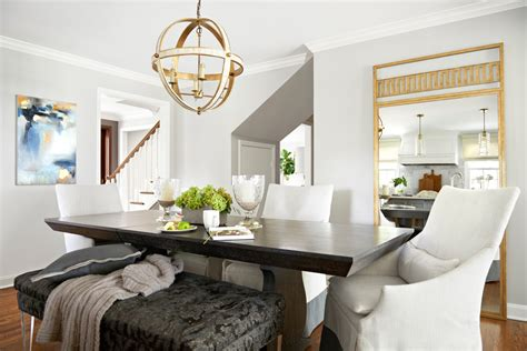 bright beautilful home transitional dining room