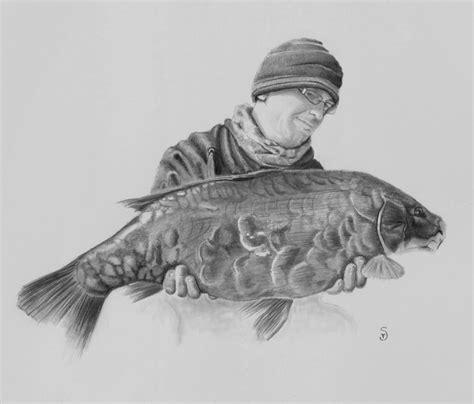 Common Carp Drawing