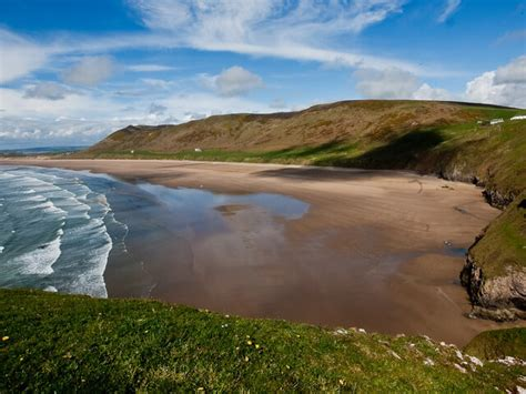 10 Of The Best Beaches In Wales Sykes Holiday Cottages Rhossili Bay Cottages
