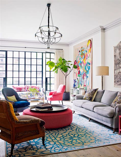 eclectic interior design vivacious manhattan townhouse with eclectic interiors