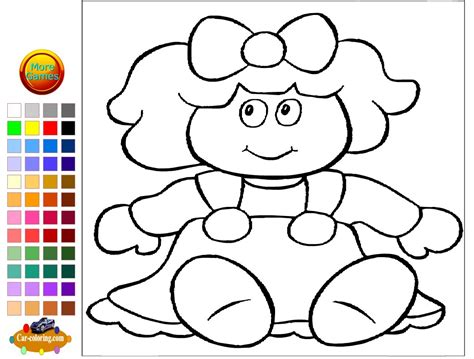 coloring doll doll coloring pages for doll coloring pages