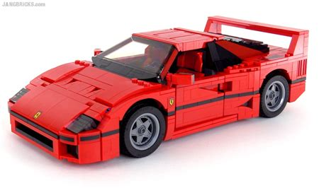 lego f40 lego creator f40 build review set 10248