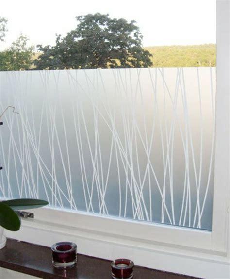 Fenster Sichtschutzfolie Bambus selbstklebende fenster sichtschutzfolie schicke fensterdeko
