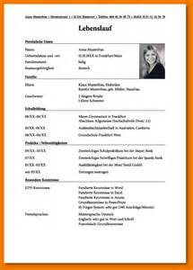 Lebenslauf Fur Bewerbung Bewerbung F 252 R Schule Transition Plan Templates