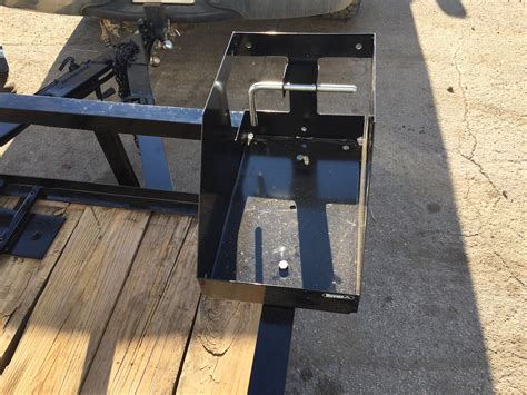 locking gas can rack warren truck trailer inc
