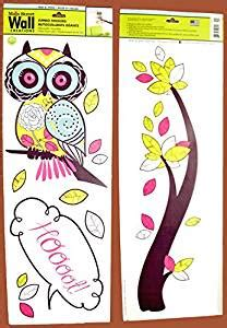 wall creations jumbo stickers wall creations jumbo stickers hoot owl in a tree home kitchen