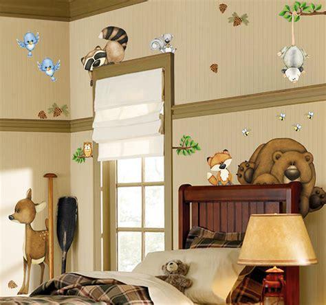 Bedroom Wall Sticker borders unlimited wandsticker tiere des waldes ecken kanten