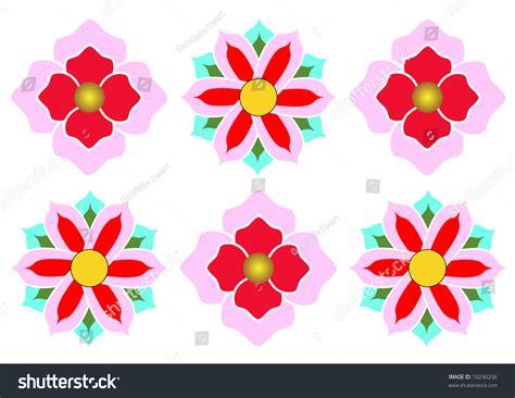 pink pattern korean korean abstract flower pattern stock photo 10236256