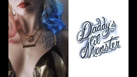 film strip tattoo maybe smaller get a detailed look at margot robbie s harley quinn