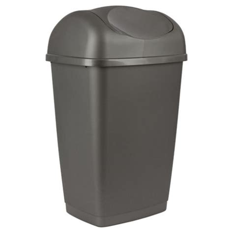 kitchen swing bin buy 50l swing kitchen bin platinum from our waste bins
