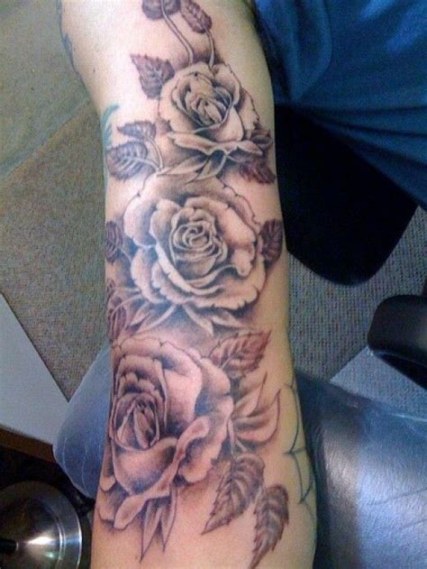 29 best rose bush tattoos for men images on pinterest