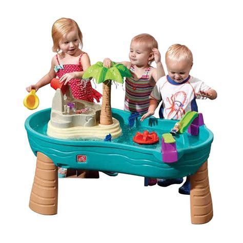 Step 2 Activity Table by Step2 Splish Splash Seas Water Table 850700 The Home Depot