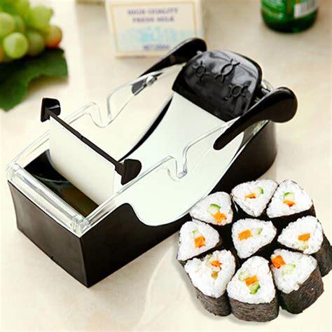 Sushi Roller Sushi Roller New 2 kitchen magic roll easy sushi maker cutter roller