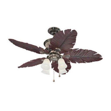 enclosed blade ceiling fan 52 quot paradiso caribbean brass 5 blade ceiling fan suitable