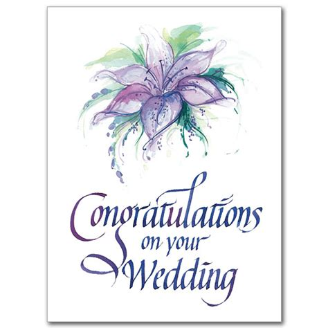 Wedding Card Congratulations by Congratulations On Your Wedding Wedding Congratulations Card