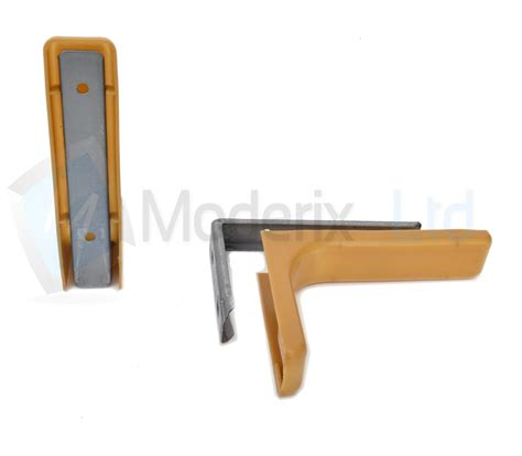 shelf support bracket with covers 180mm invisible