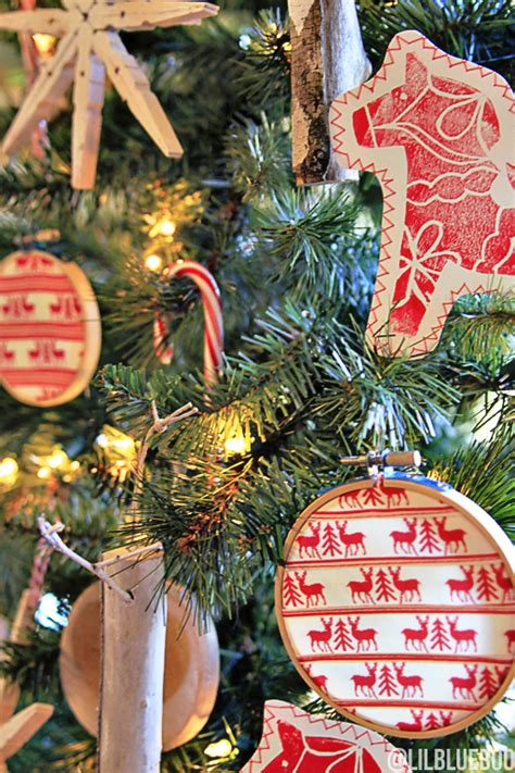 scandinavian tree ornaments the scandinavian tree ornaments