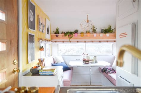 Southern Style Homes the nugget vintage trailer makeover reveal vintage