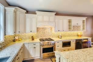 Bathrooms With Chandeliers Wellington Ivory Kitchen Traditional Kitchen Cabinetry