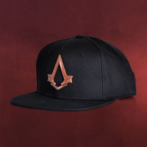 Snapback Assasins Creed Syndicate assassins creed syndicate bronze logo snapback cap