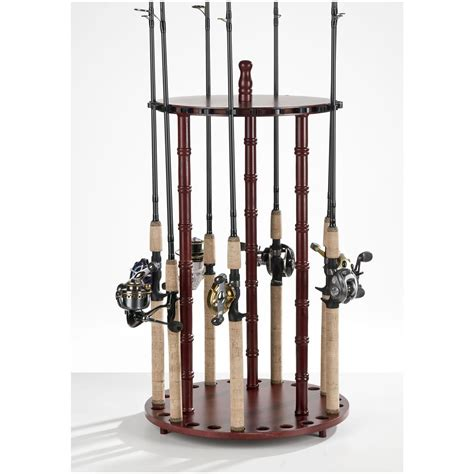 Fishing Rod Racks For Home by Organized Fishing 24 Rod Floor Rod Rack 231535