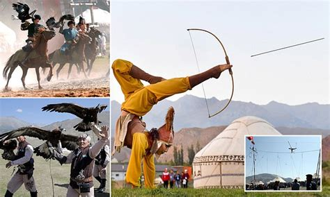 kyrgyzstan kicked   world nomad games daily mail