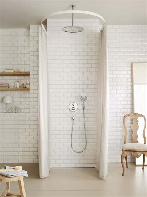 clasic bathroom classic design hansgrohe raindance overhead shower