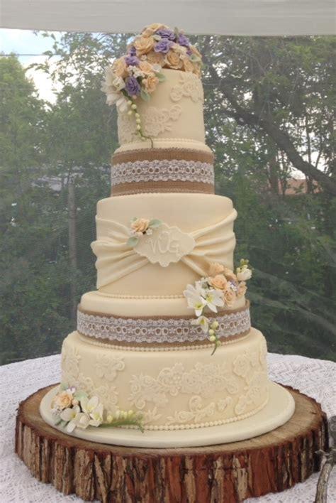 vintage rustic wedding cake cakecentral com
