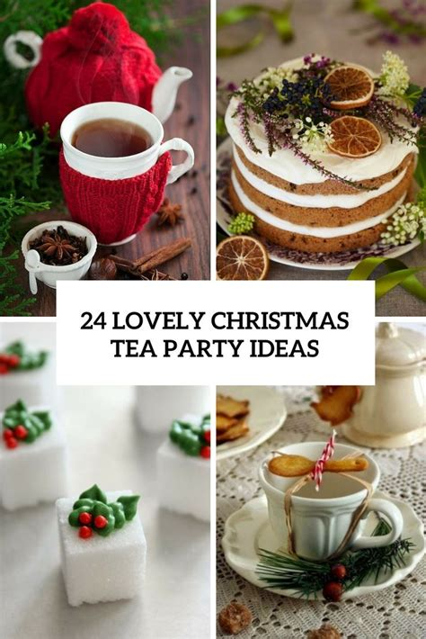 25 best ideas about christmas tea on pinterest