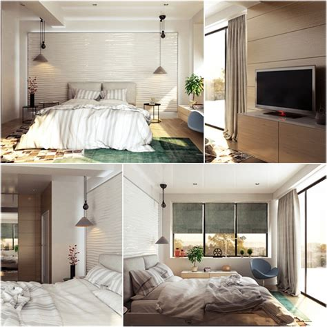 Bedroom Decorating Idea With Large Mirror Cozy And Soft Soft Cozy Bedroom Designs For