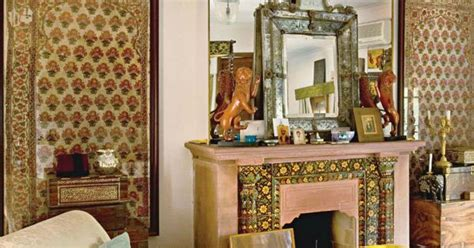 Modern Livingroom modern indian style living room from architectural digest