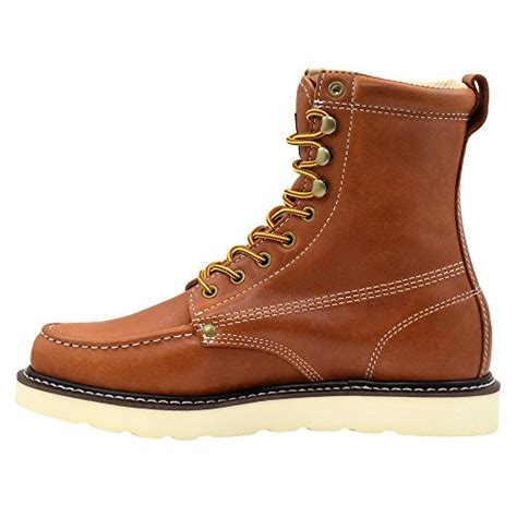 mens construction work boots king rocks s 8 quot pu wedge construction work boots moc