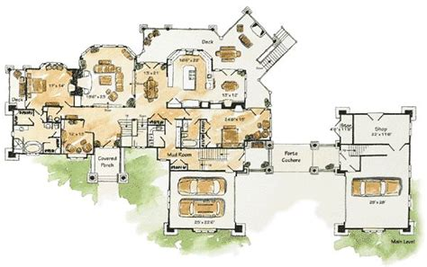 luxury mountain home floor plans luxury mountain home